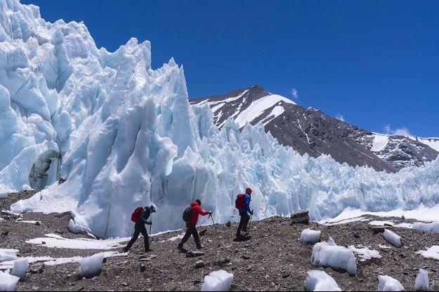 Le Rongbuk Glacier.