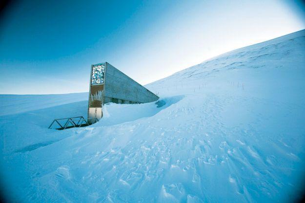 Sur une île norvégienne glacée, le Global Seed Vault, où sont protégées des semences du monde entier