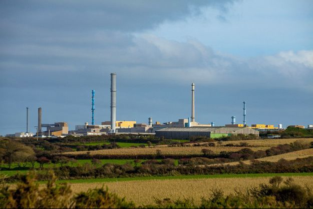 L'usine Orano de La Hague, dans la Manche, en 2017.