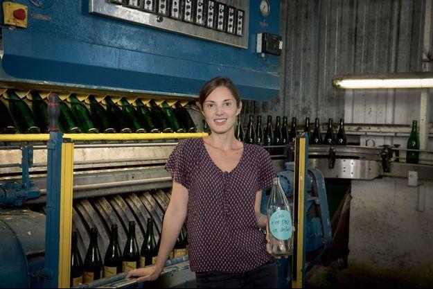 Célie Couché, 34 ans, entrepreneuse engagée à Nantes (44).