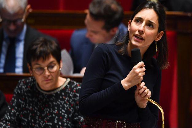 La secrétaire d'Etat à la Transition écologique Brune Poirson à l'Assemblée nationale, en décembre 2019.