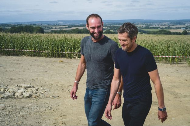 Edouard Bergeon et Guillaume Canet