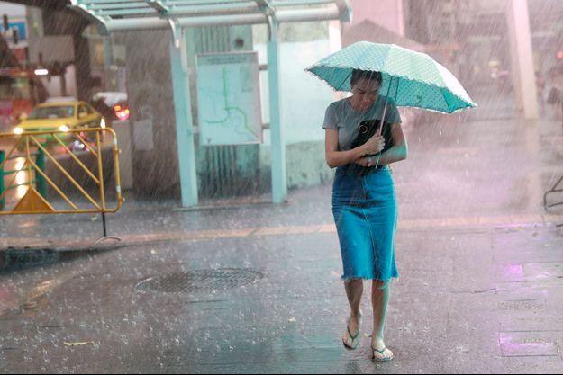 Bangkok sous la pluie.