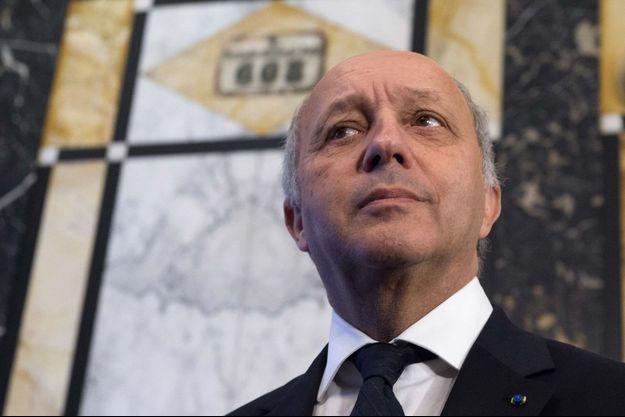 Laurent Fabius, ministre des Affaires étrangères