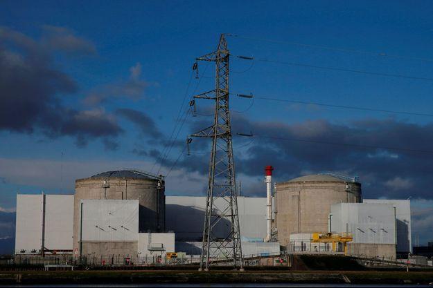 La centrale nucléaire de Fessenheim en janvier dernier.