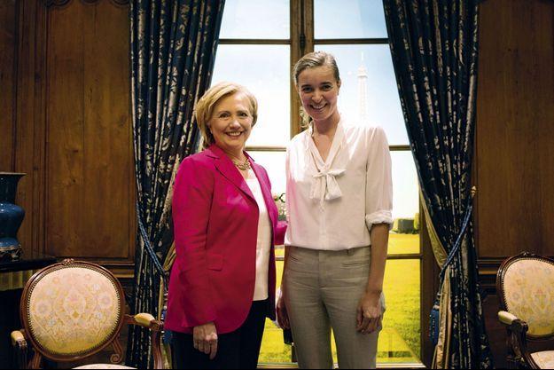 Ma vie d'avant... En 2014, j'interviewe Hillary Clinton.