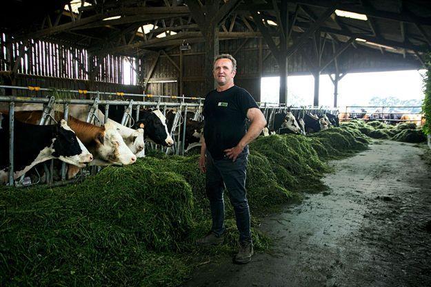 Noël Rozé, 50 ans, éleveur laitier à Caro (56)