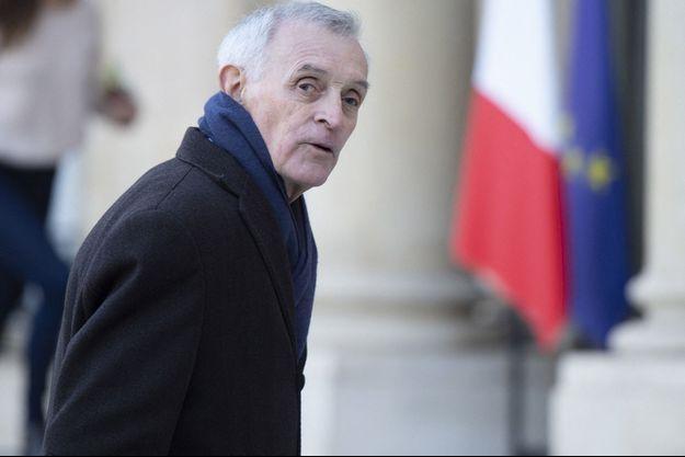Jean Jouzel ici à l'Elysée en mars 2019 in Paris.