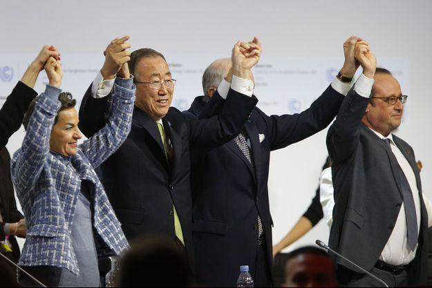 L'Accord de Paris a été adopté le 12 décembre 2015