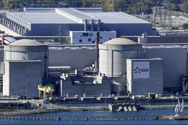 La centrale nucléaire de Tricastin (Drôme).