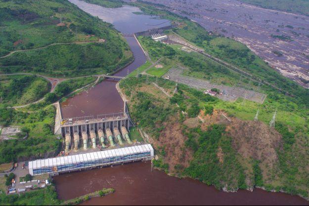 Le barrage hydroélectrique Inga 2 sur le fleuve Congo