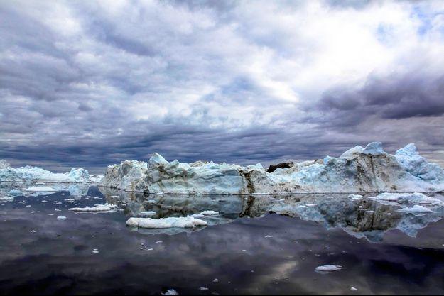 Les glaces du Groenland.