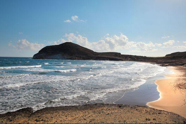 Une plage andalouse.