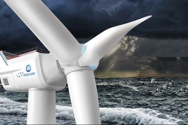 La plus grande turbine éolienne du monde
