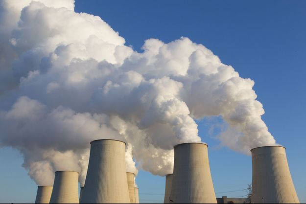 Illustration de la centrale thermique de Jänschwalde, en Allemagne.
