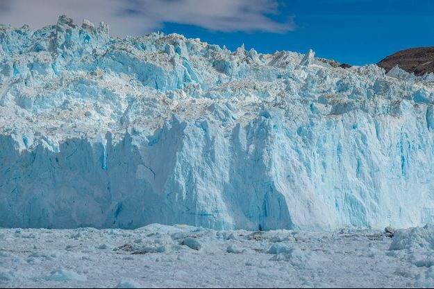 Un iceberg au Groenland.