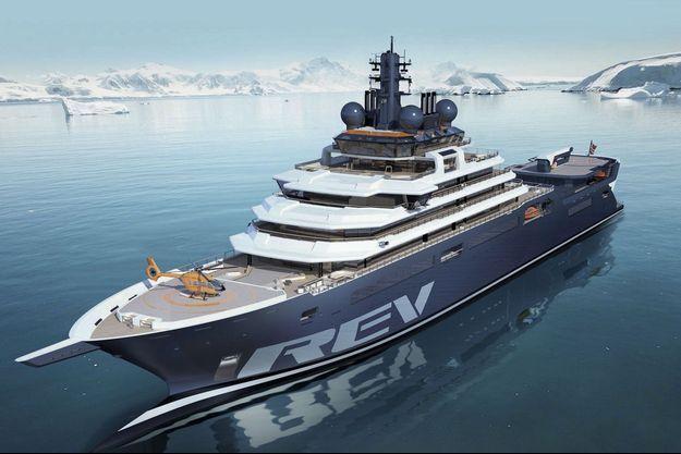 Le plus grand yacht du monde : au chevet de la mer