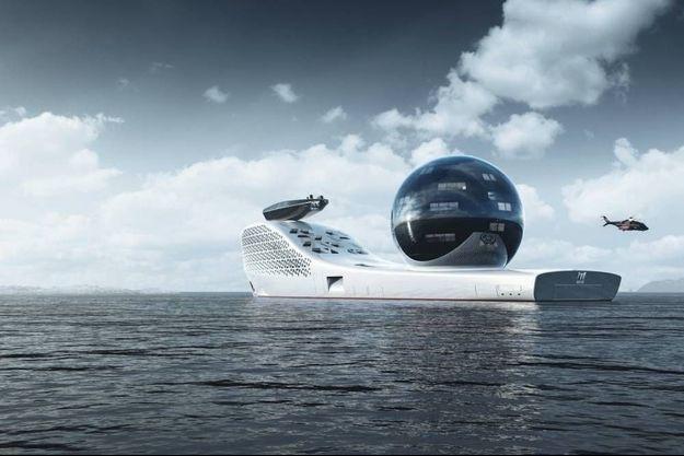 Le superyacht laboratoire du futur