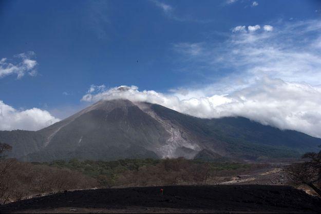 Volcan Fuego en juillet 2018