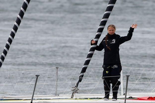 Greta Thunberg est partie le 15 août à bord d'un voilier de course zéro carbone, le Malizia II, afin d'assister au sommet mondial de l'ONU à New-York en évitant d'avoir recours à l'avion.