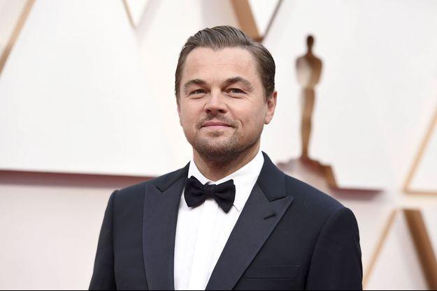 Leonardo DiCaprio, aux Oscars, en 2020.