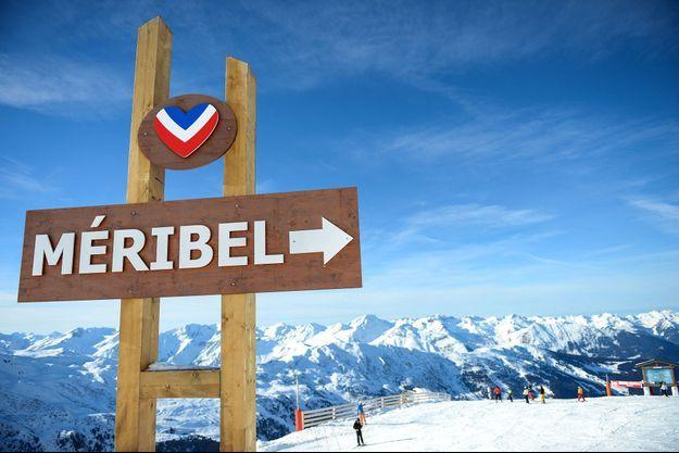 A Méribel, domaine des 3 Vallées.