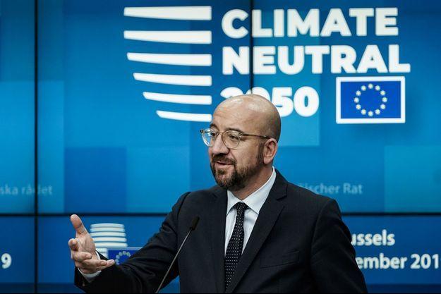 Charles Michel, président du conseil de l'Europe, vendredi à Bruxelles.