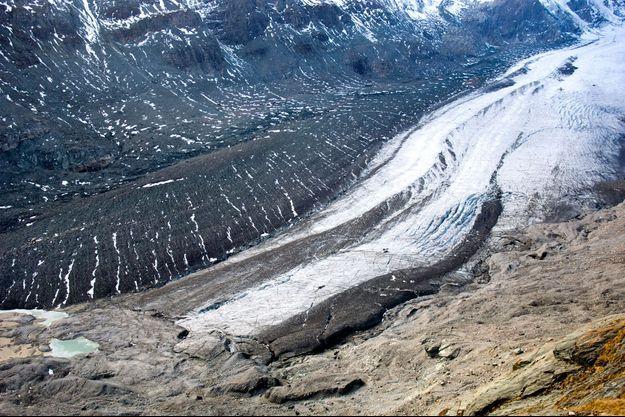 Glacier en Autriche.