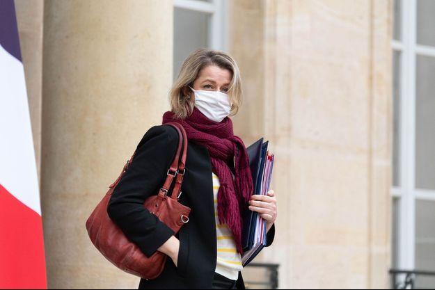Barbara Pompili, ministre de la Transition écologique à l'Elysée, le 27 janvier.