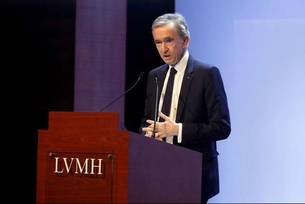 Bernard Arnault président-directeur général d'LVMH.