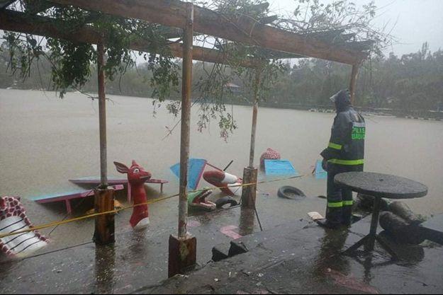 Un typhon aux Philippines a fait 19 morts.