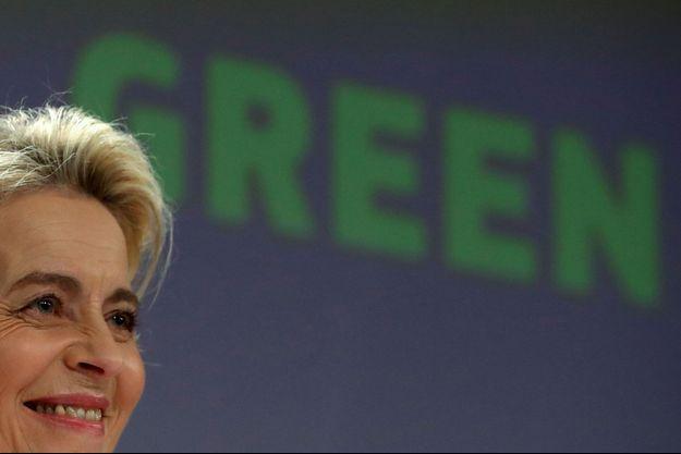 La présidente de la Commission européenne Ursula von der Leyen, mercredi à Bruxelles.