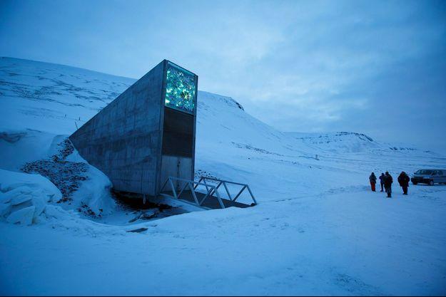 La Réserve mondiale de semences du Svalbard.