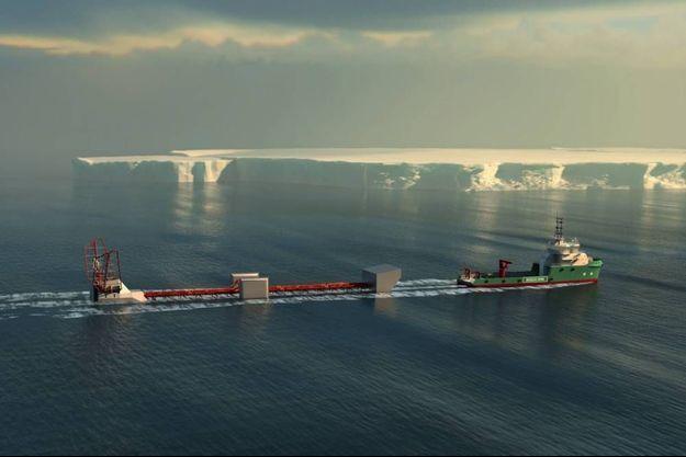 Polar Pod : un bateau vertical pour étudier l'océan austral