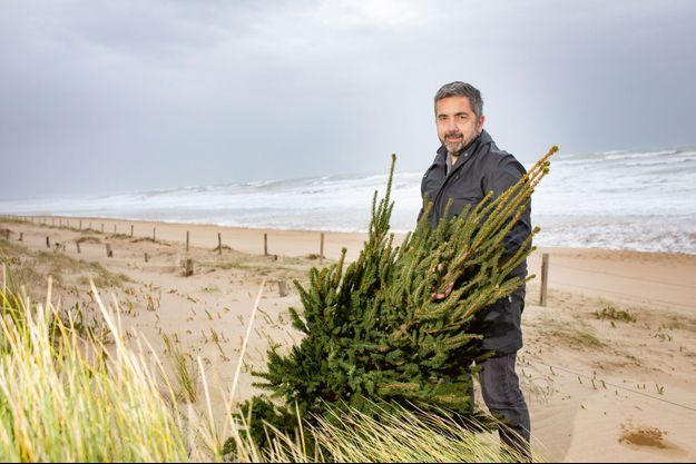 Gérald Juin, 54 ans, fondateur de l'association Dunes Attitudes, Le Bois-Plage-en-Ré.