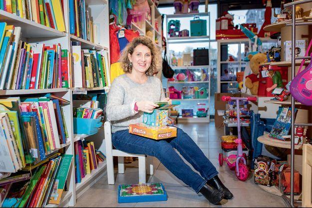 Claire Tournefier, 49 ans Fondatrice de l'association Rejoué, à Paris.