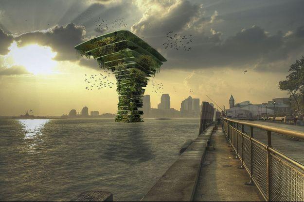 Sea Tree : un arbre flottant pour créer un écosystème