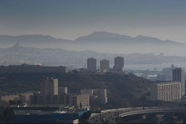 Marseille pollué, le 15 février 2019.