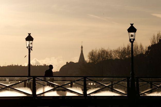 Le Pont des arts à Paris.