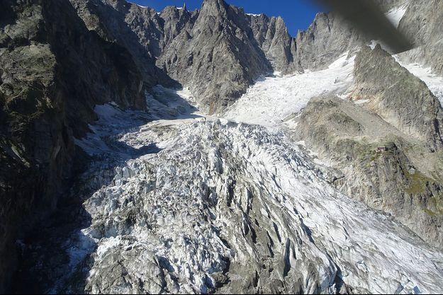Le glacier Planpincieux, ici photographié le 20 septembre.