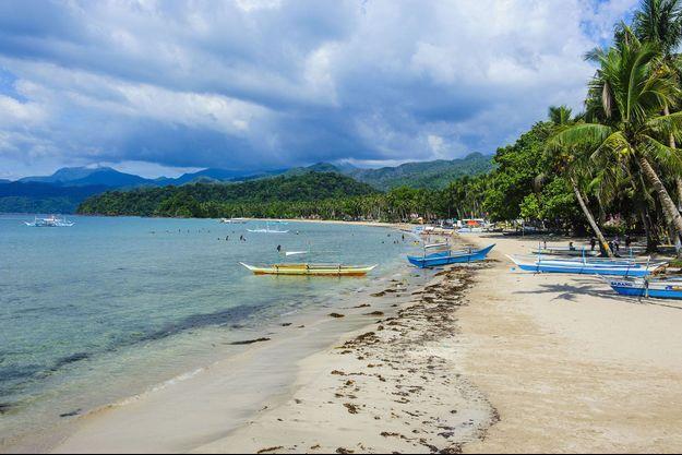 L'île de Palawan aux Philippines.