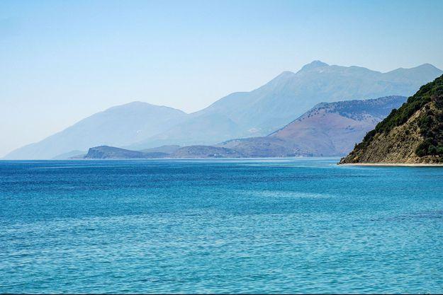 En mer Adriatique.
