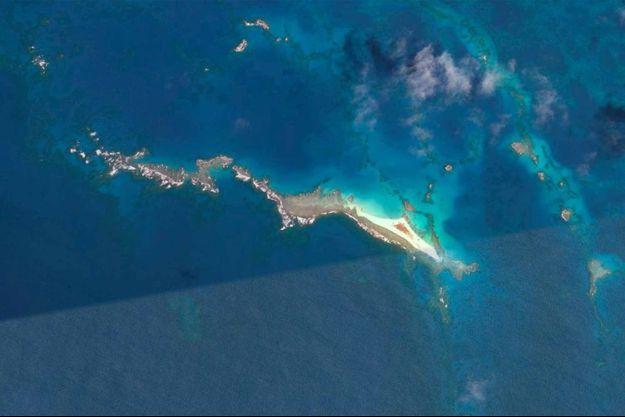 L'île East Island en 2007.