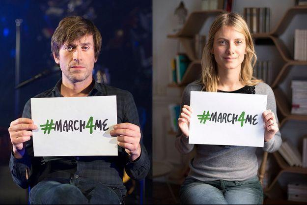 Thomas Dutronc et Mélanie Laurent