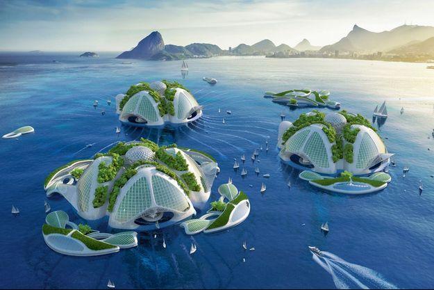 Le projet Aequorea : des fermes marines imprimées en 3D à partir de résidus plastiques.