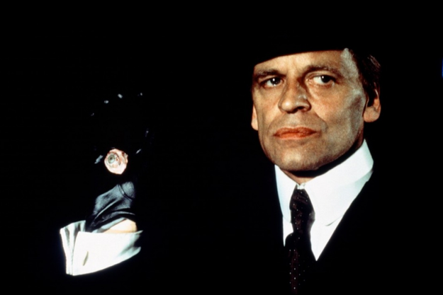 "Klaus Kinski dans ""Jack l'Eventreur"", de Jesus Franco (1979)."