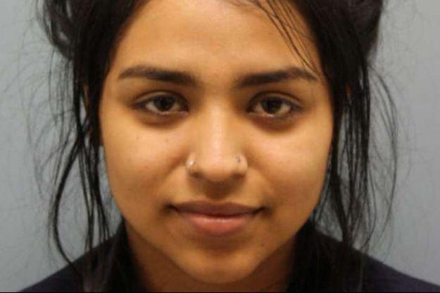 La jeune femme a été incarcérée.