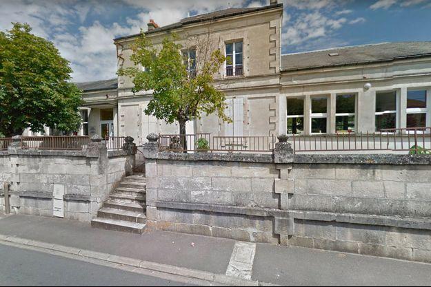 Capture écran Google street view de l'école.