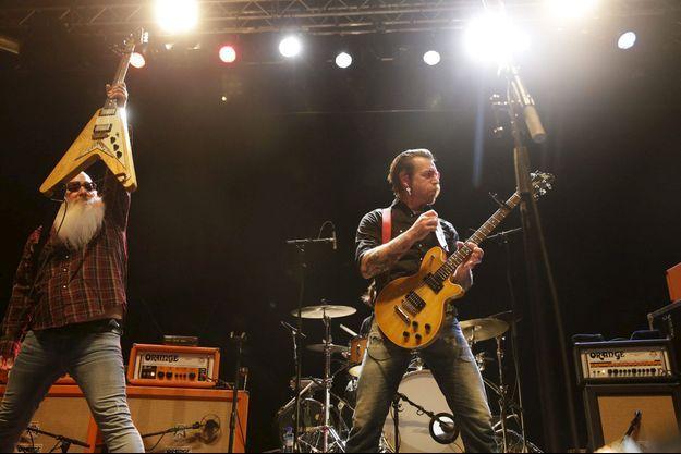 Les Eagles of Death Metal lors d'un concert en Norvège (image d'illustration).