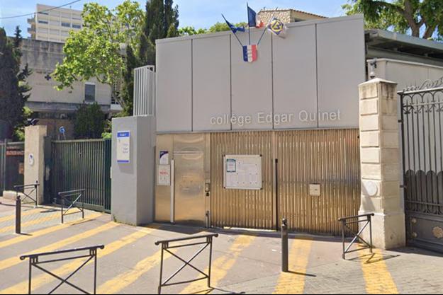Collège Edgar-Quinet à Marseille.